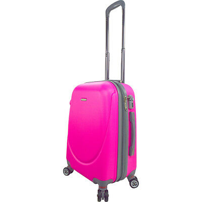 """Travelers Club Luggage Barnet 2.0 Premium 20"""" Carry-On Hardside Carry-On NEW"""
