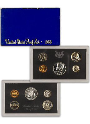 1968 S United States US Mint Clad Proof Set In Original Mint Packaging SKU1413