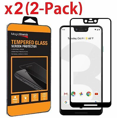 2-Pack For Google Pixel 3 Pixel 3 XL Full Cover Tempered Glass Screen Protector