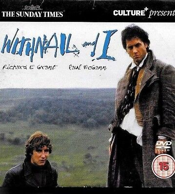 1 newspaper promo dvd WITHNAIL AND I richard e grant paul mcgann