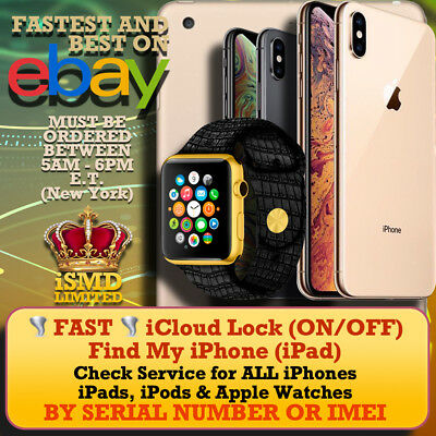 INSTANT FAST IPHONE iPad APPLE WATCH IMEI SOLD BY COUNTRY