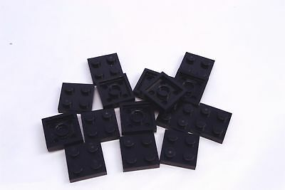 10x 6058118 Brick 64799 LEGO NEW 4x4 Black Plate with Open Centre 2x2