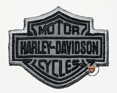 Harley Davidson Reflective Bar & Shield Vest Patch * Discontinued * Small