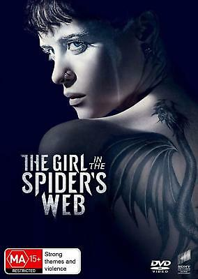 THE GIRL IN THE SPIDER'S WEB (2018): Action, Crime, Dragon Tattoo - Au Rg4 DVD