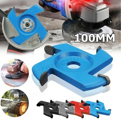 100mm Hexagonal Blade Tool Attachment For 16mm Angle Grinder Power Wood Carving