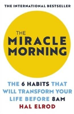 The Miracle Morning by Hal Elrod  9781473668942