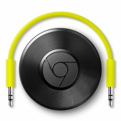 Google Chromecast Audio Media Music WIFI Wireless Streamer IOS Android UK NEW