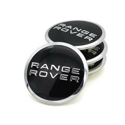 Range Rover Alloy Wheel Centre Caps X4 Fits Vogue, Evoque and Sport models