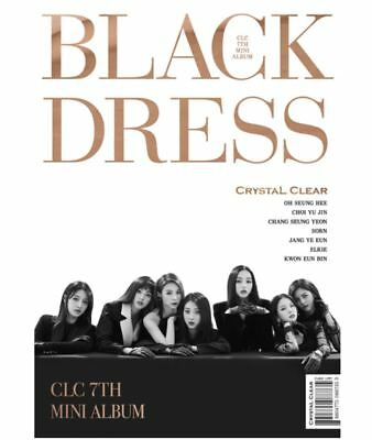 "K-POP CLC 7th Mini Album ""BLACK DRESS"" - 1 Photobook + 1 CD Free Shipping"