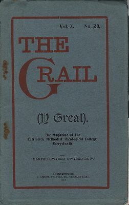 "Feminism - Dosshouses - T.gwynn Jones - Welsh Calvinists - ""the Grail"" (1913)"