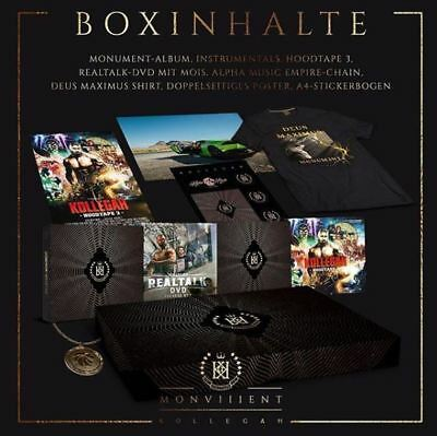 Kollegah - Monument (Limited Deluxe Box)(2018) 3CD&DVD | NEU&OVP