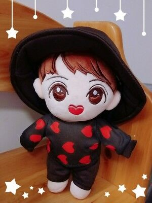 Kpop Bangtan Boys BTS J-HOPE Plush MIC Drop Stuffed Toy Handmade Doll