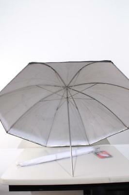 "Used Studio Lighting Umbrella Kit w/ (1) White 40"" (1) Black 36"""
