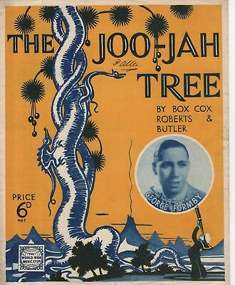 """Sheet Music - """"The Joo-Jah Tree"""" - Perfofmed & Recorded By George Formby(1938)"""