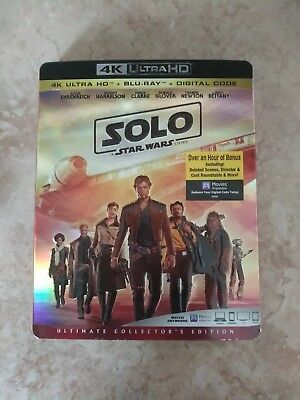 Solo: A Star Wars Story (4K Ultra HD/Blu-ray/Digital Code, 2018) Ultimate Collec