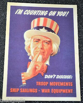 24x32 1942 WW2 Merchant Marine Poster You Bet I/'m Going Back to Sea