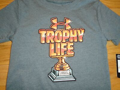 Under Armour Baby Boys T-Shirt Tee Shirt Trophy Life Toddler 2 2T NWT