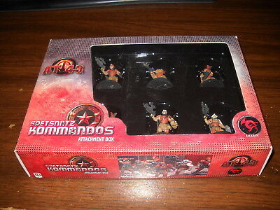 AT-43: Red Blok: Spetsnatz Kommandos Attachment Box: Complete