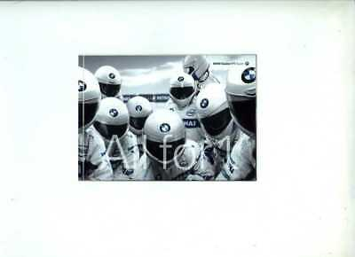 Sauber BMW F1 2008 Official Team Issued Postcard