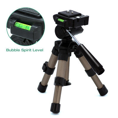 """7"""" - 11"""" Adjustable Portable Tripod for Camcorder and Camera Universal w/ Case"""
