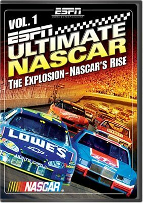 ESPN: Ultimate NASCAR Vol. 1 - The Explosion, NASCAR's Rise (DVD) NEW
