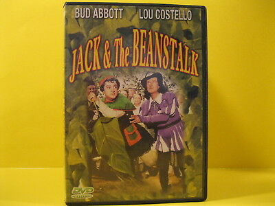 DVD MOVIE - JACK & THE BEANSTALK with BUD ABBOTT & LOU COSTELLO - FREE SHIPPING