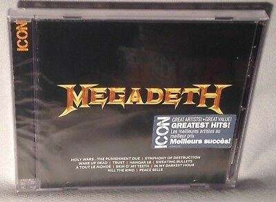 CD MEGADETH Icon Greatest Hits NEW MINT SEALED