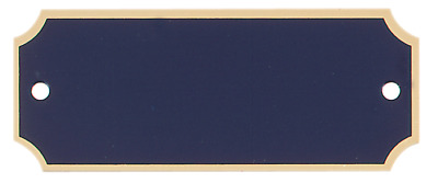 "1"" x 2 1/2"" Personalized Engraved Brass Name Plate for Award/Plaque/Trophy"