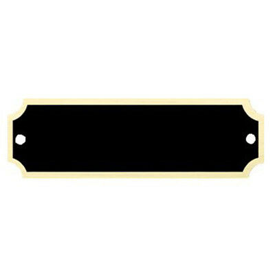 "1"" x 3 1/4"" Personalized Engraved Brass Name Plate for Award/Plaque/Trophy"