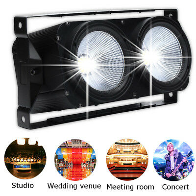 2 in 1 200W COB LED DMX Stage Lighting Wedding Lamp Party Light Cool/Warm White