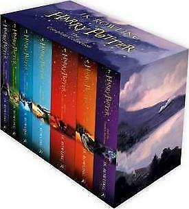 Harry Potter Box Set: The Complete Collection Children's [Paperback]