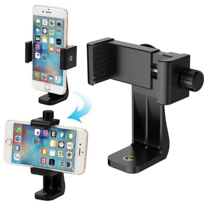 Universal Cell Phone Tripod Adapter Holder Smartphone Mount For iPhone Samsung
