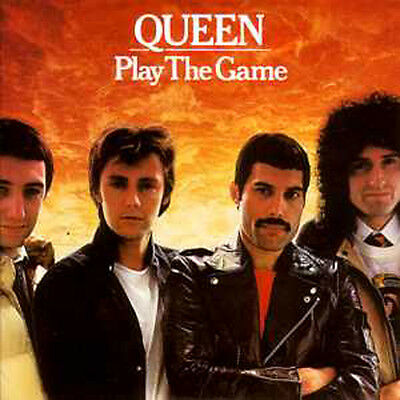 ★☆★ CD Single QUEENPlay the game  + UK + 2-track CARD SLEEVE A human body