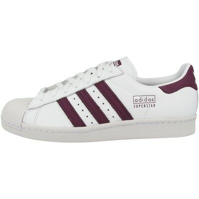 adidas chaussures bordeaux,Adidas SUPERSTAR 80S Chaussures