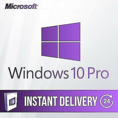 Windows 10 Professional 32 & 64 Bit Ms Win 10 Pro Activation Key Product Code