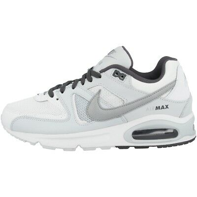 online store 653ab 88801 Nike Air Max Command Chaussures Homme Sport Loisirs Baskets Blanc Gris