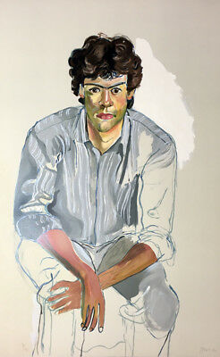 Alice Neel YOUTH Original Hand Signed Art Lithograph Rare Limited Edition