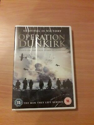 Operation Dunkirk (DVD) (NEW AND SEALED)