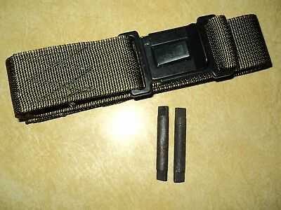 Us Military Lc-2 Alice Pack Lower Back Kidney Pad Repair Kit - Strap W/ Rollers