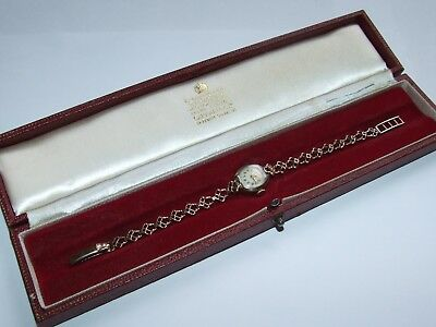 Solid 9ct Gold Case & Strap 1957 Rolex Tudor Royal Wristwatch, Lovely Example!
