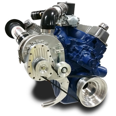 Torqstorm Supercharger System Small Block Ford Cleveland 351C Arp-K-Fd351C