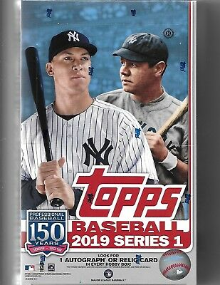 2019 Topps Series 1 Baseball FACTORY SEALED  2 Box  LOT + 2 Silver Pack