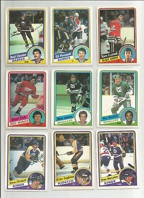 1984-85 Opc Lot Of 46 Cards With Stars Messier Lafleur +++ O-Pee-Chee