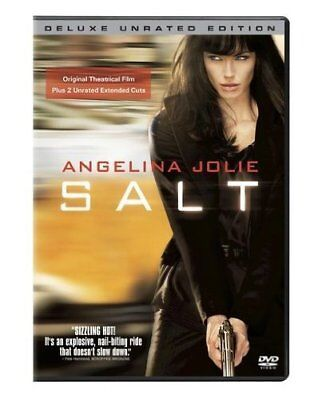 Salt (DVD, 2010, Unrated Deluxe Edition) NEW
