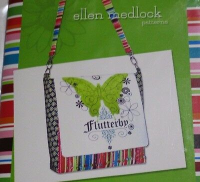 THE CHERI BAG PATTERN #102 BY ELLEN MEDLOCK COLLECTION IN 3 SIZES