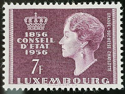 Luxembourg 1956 Sc # 323 7 Franc Mint MLH Stamp