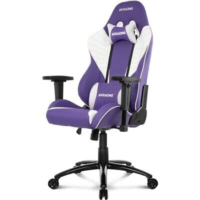 AKRacing Core Series SX Racing Style Gaming Chair with High Backrest Lavander