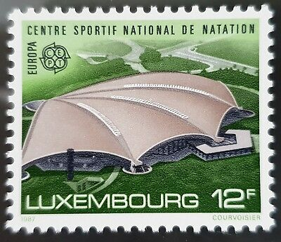 Luxembourg Sc # 769 Mint MNH 12 Franc Stamp
