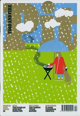 Pit Magazine - Issue 4 Rain Cover  (BBQ & Outdoor cooking)