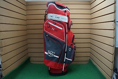 af34a92768 NEW WILSON STAFF Nexus 3 14-Dividers Red White Gray Golf Bag - Cart ...